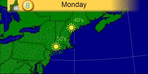 Monday 10-28 map