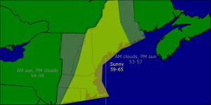 Friday morning forecast map 4-25