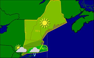 Friday morning forecast map 9-26