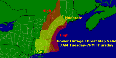 power outage threat
