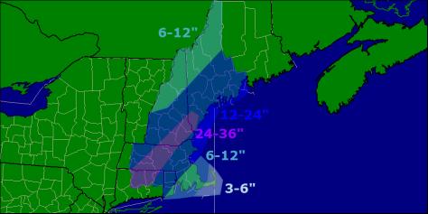 snow  map 1-25