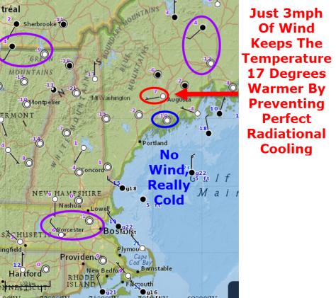 radiational cooling