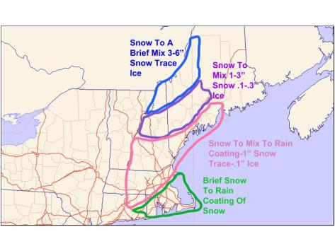 Snow map 2-14