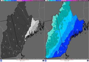 NWS Best/Worse Case Scenarios From This Morning.
