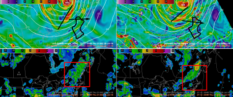 12Z NAM And GFS Both Showing Upper Level Energy And A Surface Cold Front To Trigger Storms.