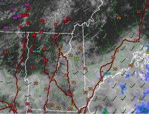 Current Conditions This Afternoon (4:30 PM) Verifying Today's Forecast