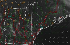 3:00 PM Observations Verifying Today's Forecast