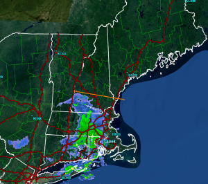 Radar Showing Morning Showers For Southern NH And SNE