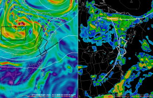 An Early Peek At Saturday's Storm Potential From The 12Z GFS
