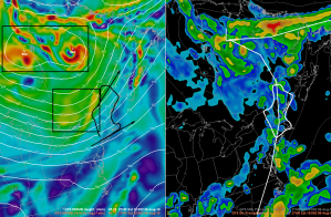 12Z GFS Showing The Trigger Setup Tomorrow Afternoon