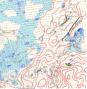 Surface Based CAPE Showing Modest Instability