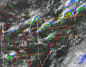 1:15 PM Radar And Satellite