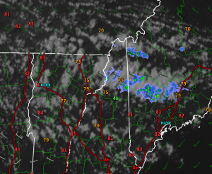 Current Conditions At 5PM Verifying The Forecast For Today
