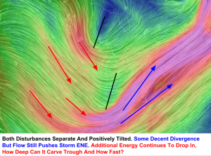 10 AM 500mb Winds. Image Credit: Nullschool